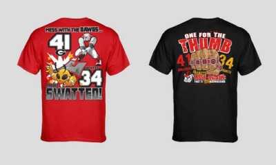 UGA-GT 2013 T-Shirts