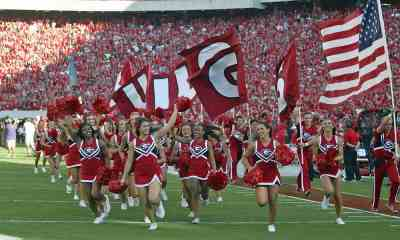 UGA Football Cheerleaders