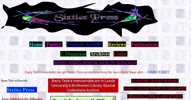 Sixties Press website