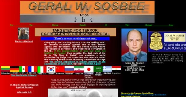 Sosbee vs FBI website