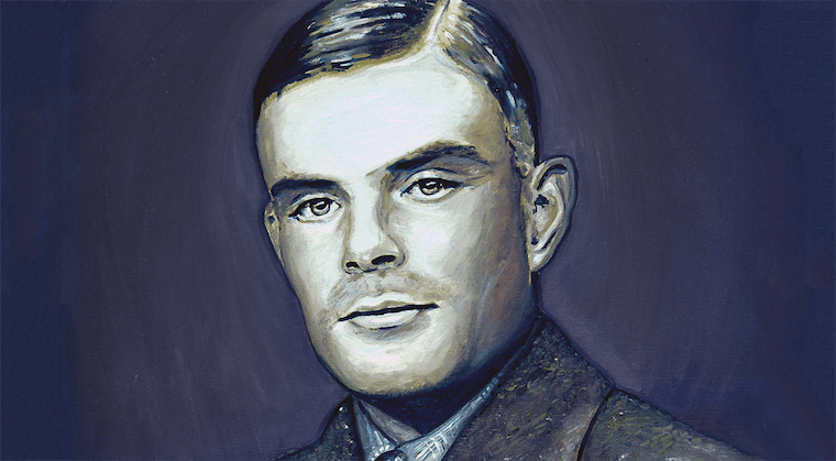 Literary Wallpaper Quote Alan Turing The Genius Who Was Chemically Castrated