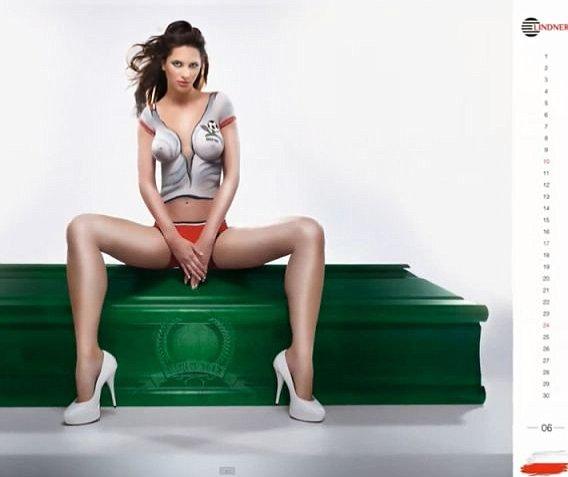 Nude Coffin Polish Calendar 8
