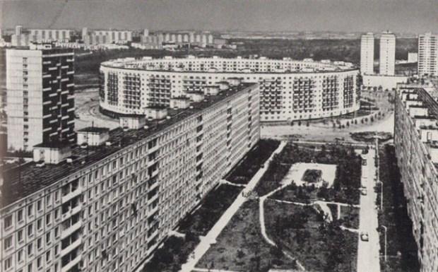 Soviet Architecture - Matveevsky - House-Ring
