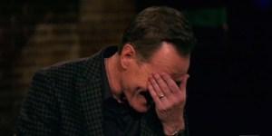 Bryan Cranston Crying