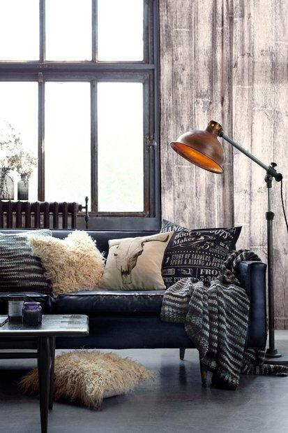 rustic industrial living room siddy sayssiddy says. Black Bedroom Furniture Sets. Home Design Ideas