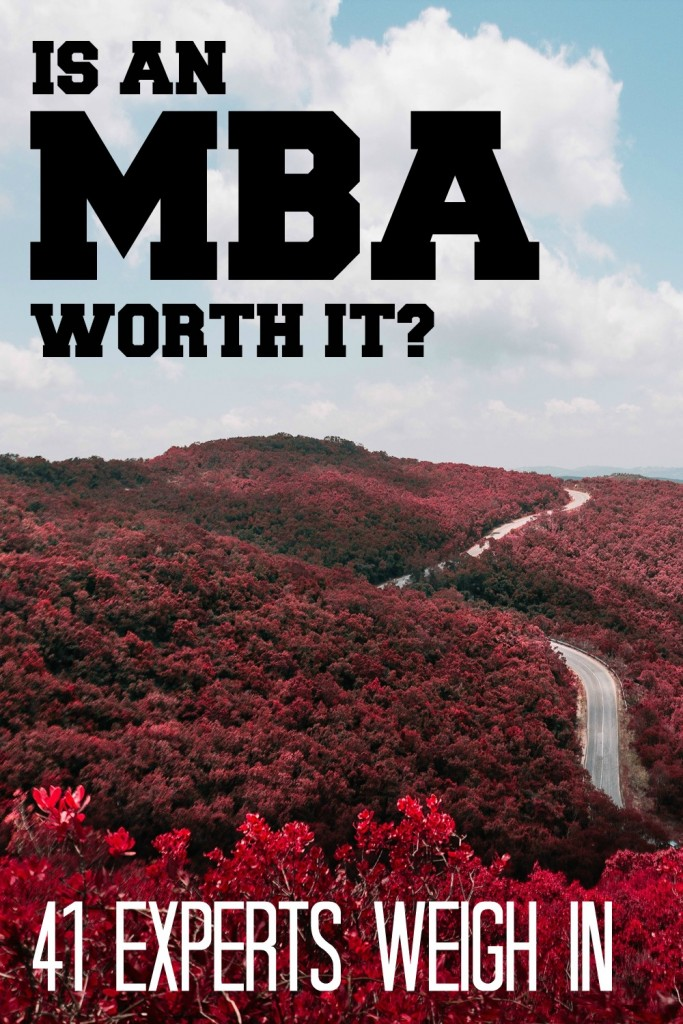 Should I Get an MBA or Start a Business? 41 Experts Weigh In - Side