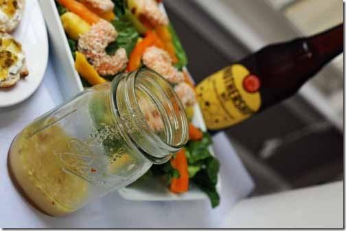 citrus wit bier salad dressing