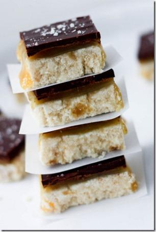 recipe for starbucks salted caramel squares