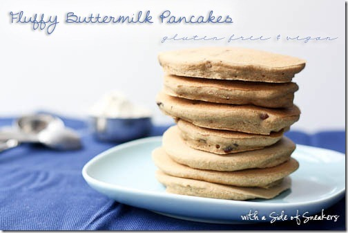 buttermilk pancakes gluten free vegan