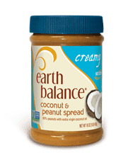earth balance coconut peanut butter