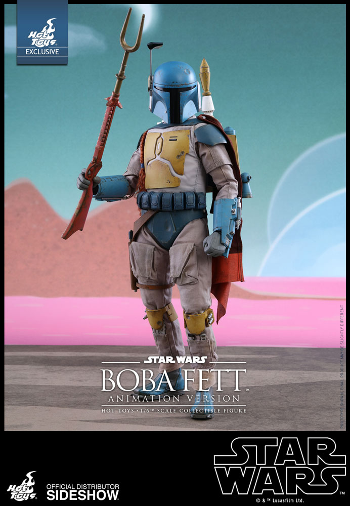 Star Wars Boba Fett Animation Version Sixth Scale Figure by