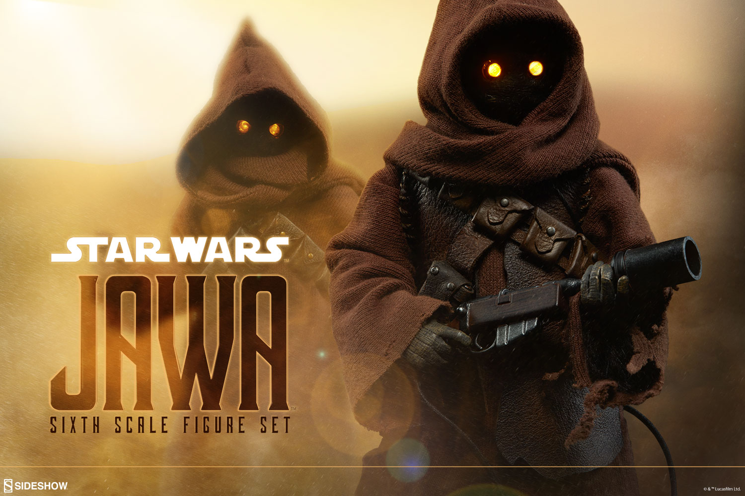 The Flash Iphone Wallpaper Star Wars Jawa Sixth Scale Figure Set By Sideshow