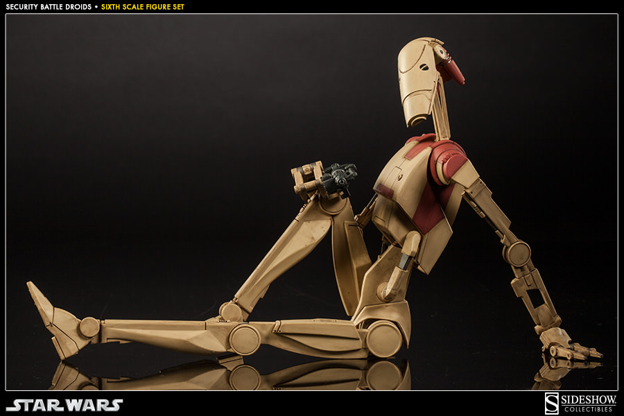 Droid 2 Wallpapers Girl Security Battle Droids Set Roger Roger Sideshow