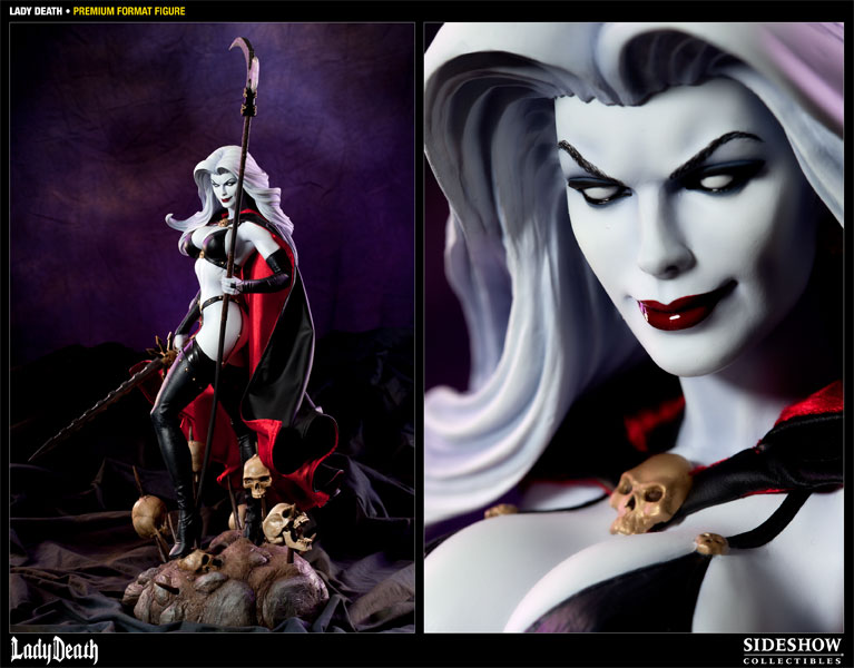 3d Horror Vampire Wallpaper Lady Death Lady Death Premium Format Figure By Sideshow