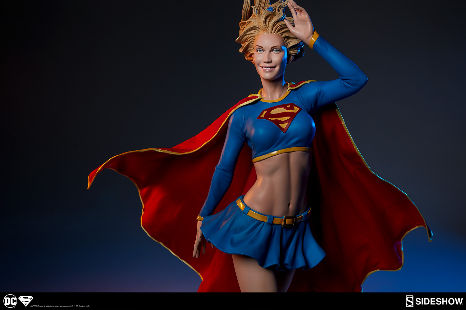 Marvel Power Girl Wallpaper Dc Comics Supergirl Premium Format Tm Figure By Sideshow