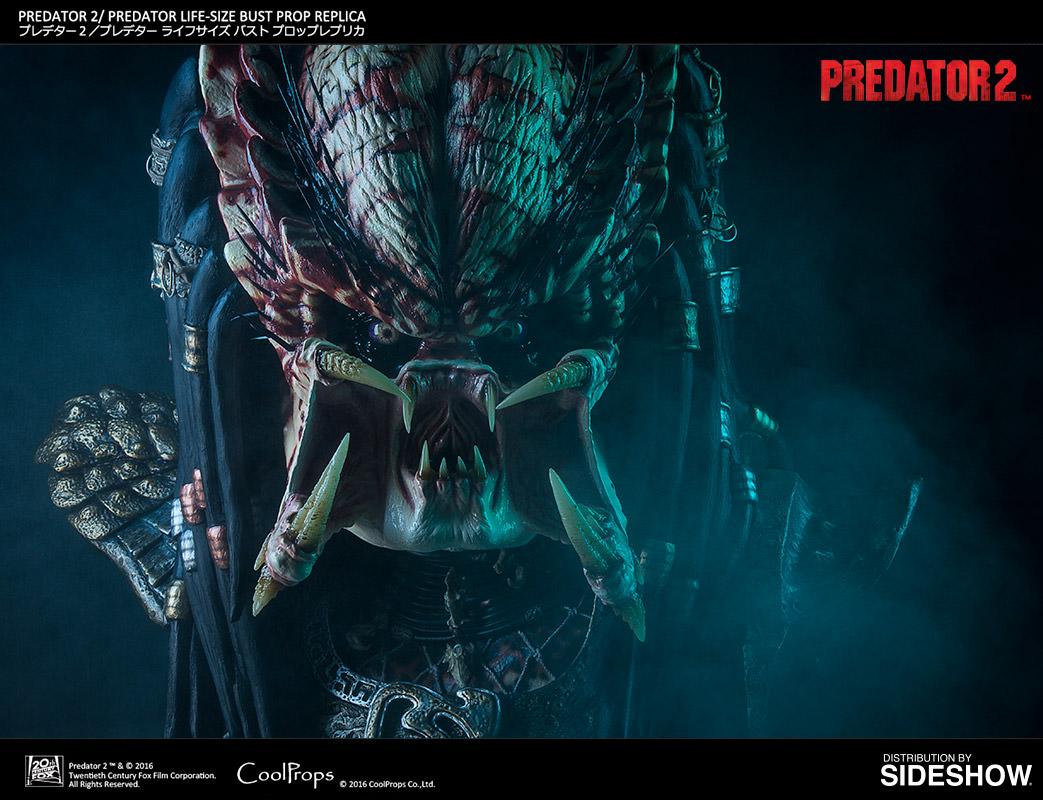 Superman Hd Wallpaper Predator 2 Predator 2 Life Size Bust Prop Replica By