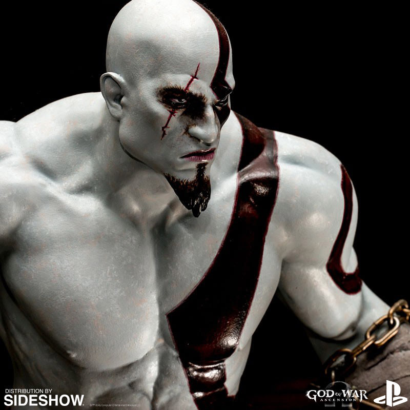 3d Star Wallpaper God Of War Kratos Statue By Efx Sideshow Collectibles