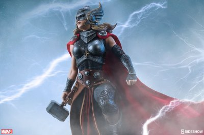 Thor: Jane Foster Premium Format Figure | Sideshow Collectibles