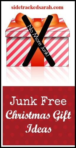 Junk Free Christmas Gift Ideas (for Kids) Sidetracked Sarah