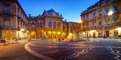 foto della piazza di catania
