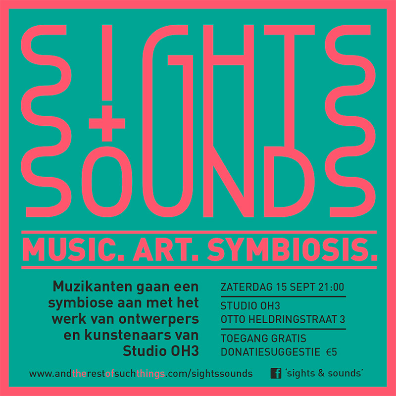 Flyer design SightsSounds 1