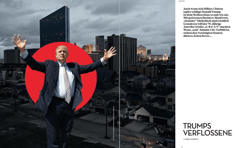Trumps Verflossene (für L'Officiel Hommes)