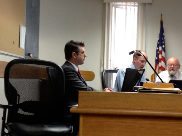 County Counsel Junior aks Christian Curtis gives advice to keep the Sierra County Supervisors out of trouble