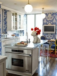 Blue and White Kitchen Designing Tips