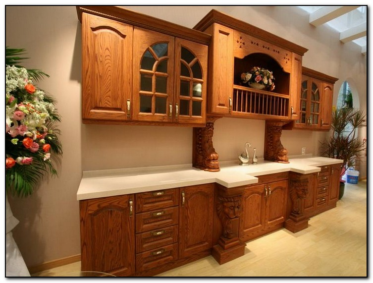Recommended Kitchen Color Ideas With Oak Cabinets | Home And