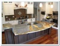 50 Best White Kitchen Cabinets with Dark Countertops