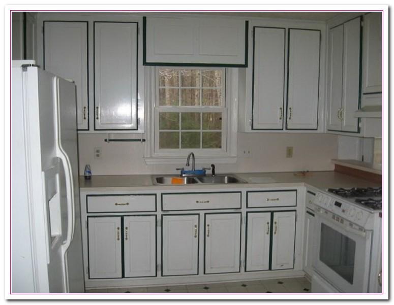 Refinish Kitchen Cabinet
