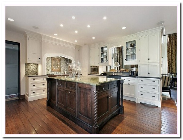 White kitchen design ideas within two tone kitchens home and cabinet