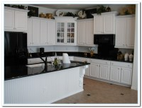 White Cabinets Dark Countertops Details   Home and Cabinet ...