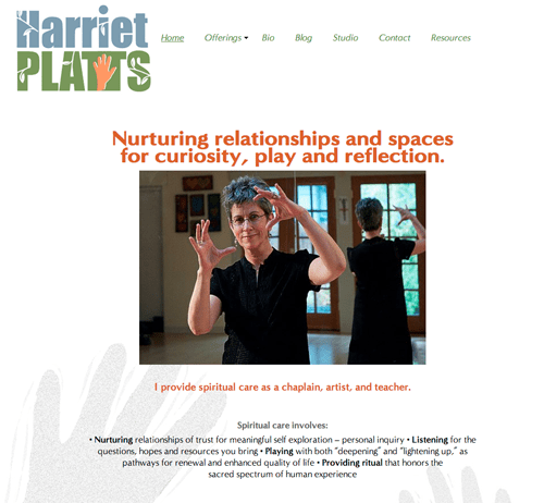 Harriet Platts web site