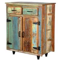 Appalachian Rustic Reclaimed Wood Standing Kitchen Utility