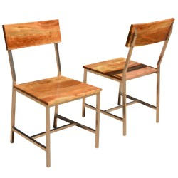 Unusual Solid Wood Iron Rustic Chair Rustic Chairs Discount Rustic Chair Cushions