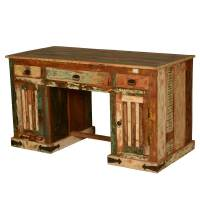 Reclaimed Wood Desks Home Office Type | yvotube.com
