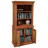 Idaho Modern Solid Wood Standard Bookcase Storage Cabinet