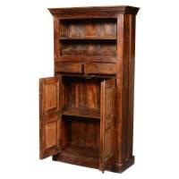 "Rustic Reclaimed Wood 71"" Tall Wine Rack Liquor Storage ..."