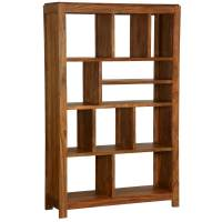 Simply Modern Solid Wood 11 Section Display Rack Cube Bookcase