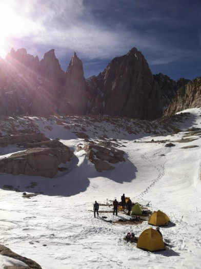 Whitney Winter Basecamp
