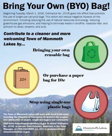 Plastic bag ban begins march 1 in mammoth lakes sierra