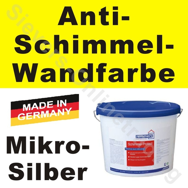 Remmers Color SA plus, Schimmel-Protect, weiss, Wandfarbe, RAL - ausenfarbe gegen innenfarbe