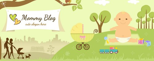 Wordpress template for mums at home with babies