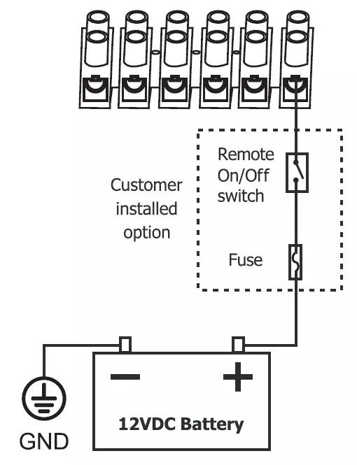 on off switch wiring diagram battery powered