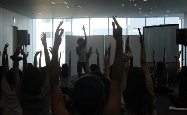 美活フェスに出演!肩甲骨ヨガ、セッションレポート!! 画像10