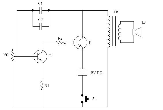 electronic bell circuit