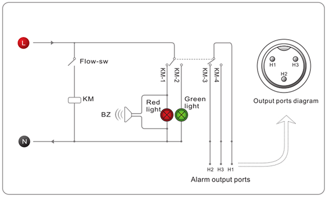 chiller wiring diagram for glass