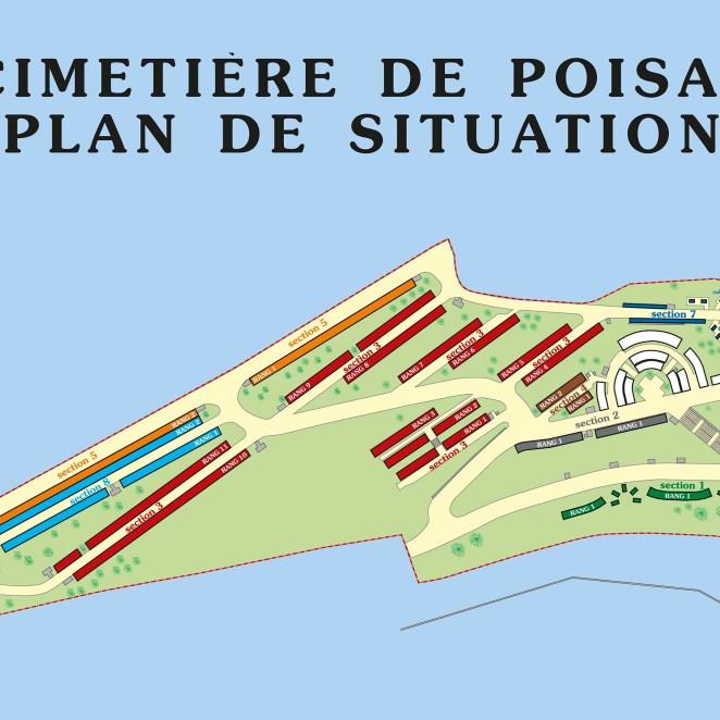 Plan de cimetière