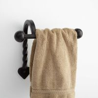 Signature Hardware Gothic Collection Cast Iron Hand Towel ...